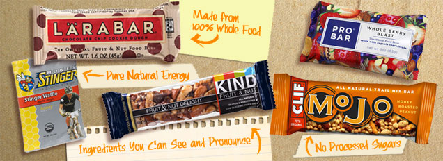 Natural Energy bars Image