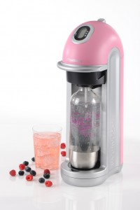 Fizz pink with drink