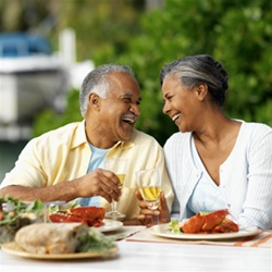 mature adults dining events