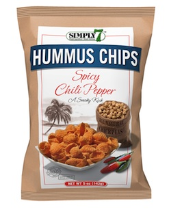 Simply7 hummus chips