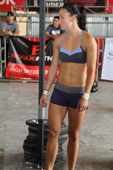 Crossfit Body Women Six Pack Abs