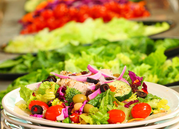 Need healthy lunch ideas use our guide to salad bars for Salas lunchs
