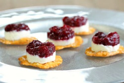 Pretzel crisp cranberry recipe