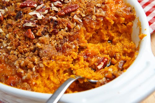 Sweet Potato Casserole (...made with clean ingredients) -