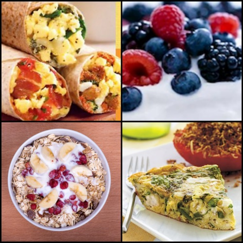 Healthy Food Nutrition Information Protein Breakfast Foods For