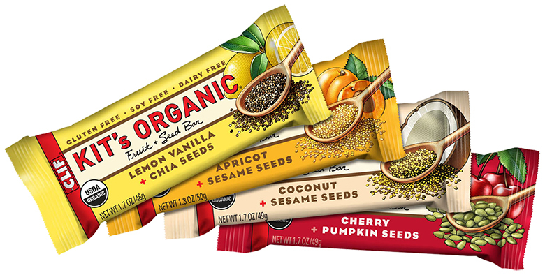 ... healthy by entering to win Kit's Organic Fruit + Seed snack bars