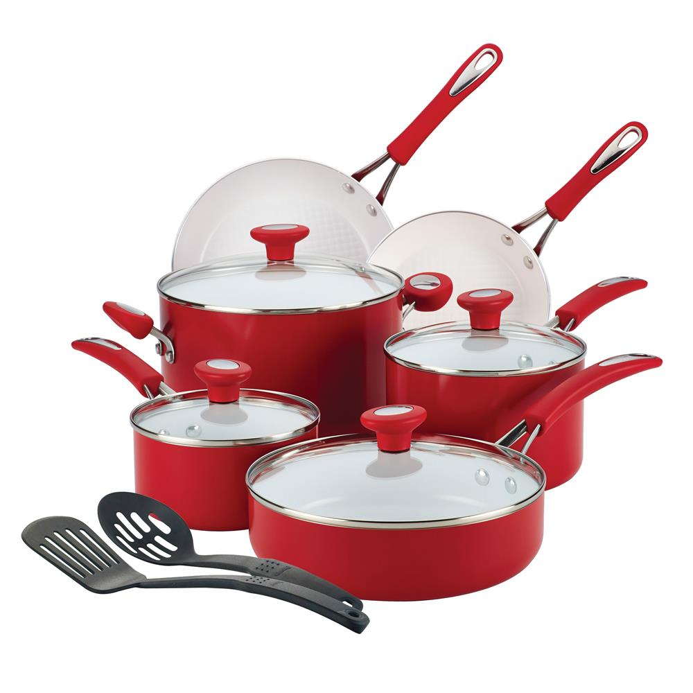 ... to win a 12-piece Silverstone Ceramic Cookware set valued at $129