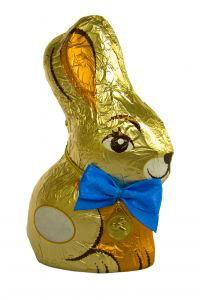Chocolate Easter Bunny Image