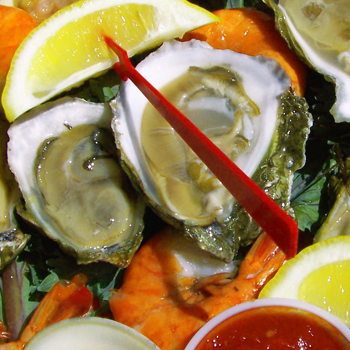 Seafood: Oysters